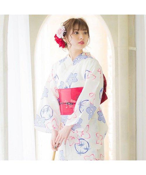 Dita(ディータ)/Dita【ディータ】1人で簡単に着られる作り帯の可愛い女性浴衣 4点フルセット(ゆかた・作り帯・下駄・着付けカタログ)/dl-2013yukata4_img22
