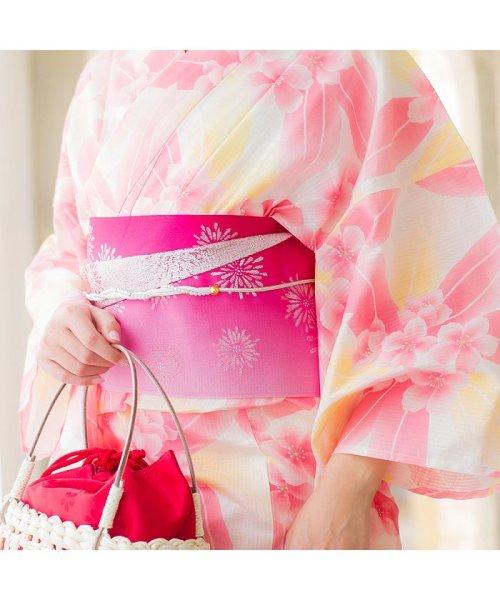 Dita(ディータ)/Dita【ディータ】1人で簡単に着られる作り帯の可愛い女性浴衣 4点フルセット(ゆかた・作り帯・下駄・着付けカタログ)/dl-2013yukata4_img30