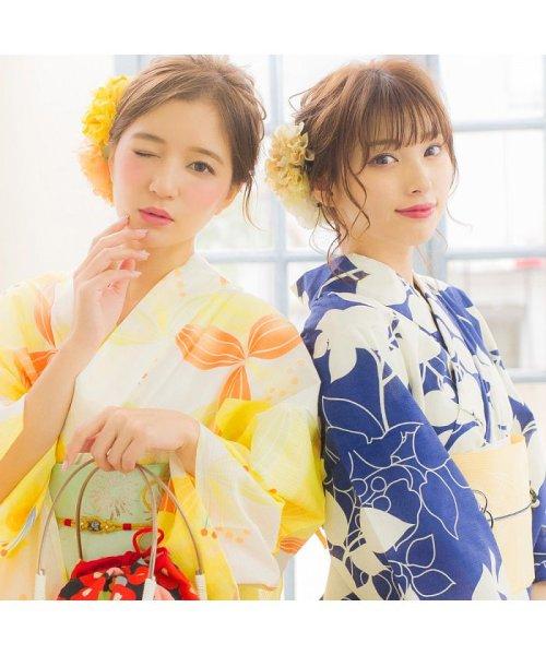 Dita(ディータ)/Dita【ディータ】1人で簡単に着られる作り帯の可愛い女性浴衣 4点フルセット(ゆかた・作り帯・下駄・着付けカタログ)/dl-2013yukata4_img33