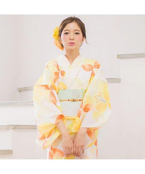 Dita(ディータ)/Dita【ディータ】1人で簡単に着られる作り帯の可愛い女性浴衣 4点フルセット(ゆかた・作り帯・下駄・着付けカタログ)/dl-2013yukata4_img34