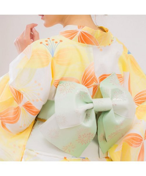 Dita(ディータ)/Dita【ディータ】1人で簡単に着られる作り帯の可愛い女性浴衣 4点フルセット(ゆかた・作り帯・下駄・着付けカタログ)/dl-2013yukata4_img35