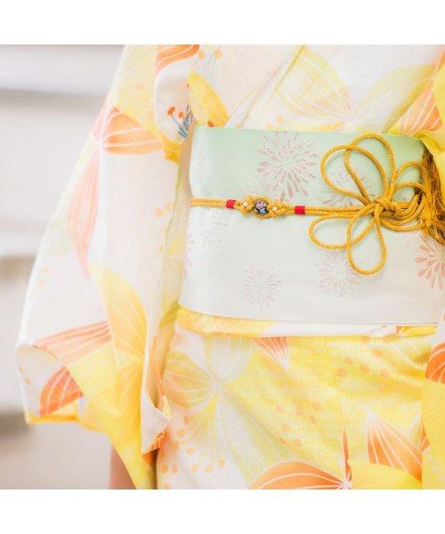 Dita(ディータ)/Dita【ディータ】1人で簡単に着られる作り帯の可愛い女性浴衣 4点フルセット(ゆかた・作り帯・下駄・着付けカタログ)/dl-2013yukata4_img37