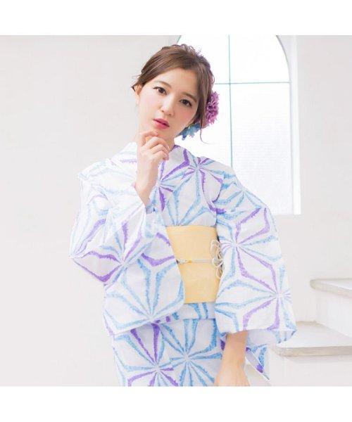 Dita(ディータ)/Dita【ディータ】1人で簡単に着られる作り帯の可愛い女性浴衣 4点フルセット(ゆかた・作り帯・下駄・着付けカタログ)/dl-2013yukata4_img41
