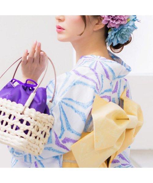 Dita(ディータ)/Dita【ディータ】1人で簡単に着られる作り帯の可愛い女性浴衣 4点フルセット(ゆかた・作り帯・下駄・着付けカタログ)/dl-2013yukata4_img42