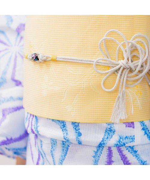 Dita(ディータ)/Dita【ディータ】1人で簡単に着られる作り帯の可愛い女性浴衣 4点フルセット(ゆかた・作り帯・下駄・着付けカタログ)/dl-2013yukata4_img44