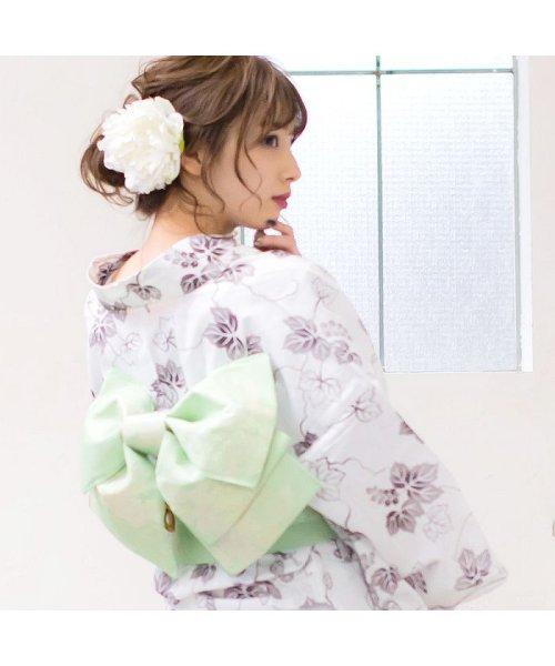 Dita(ディータ)/Dita【ディータ】1人で簡単に着られる作り帯の可愛い女性浴衣 4点フルセット(ゆかた・作り帯・下駄・着付けカタログ)/dl-2013yukata4_img49