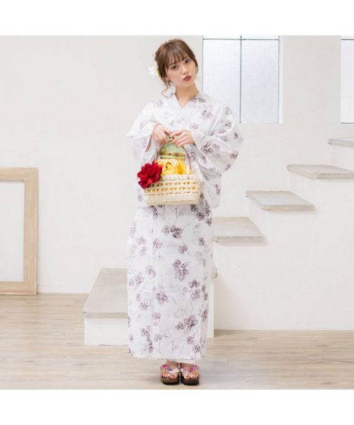 Dita(ディータ)/Dita【ディータ】1人で簡単に着られる作り帯の可愛い女性浴衣 4点フルセット(ゆかた・作り帯・下駄・着付けカタログ)/dl-2013yukata4_img50