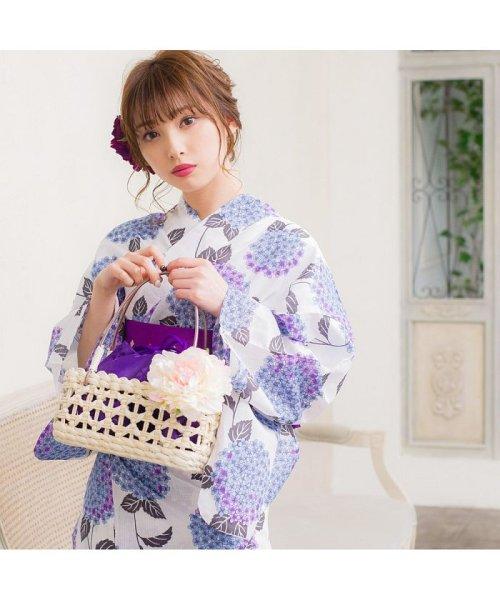 Dita(ディータ)/Dita【ディータ】1人で簡単に着られる作り帯の可愛い女性浴衣 4点フルセット(ゆかた・作り帯・下駄・着付けカタログ)/dl-2013yukata4_img55