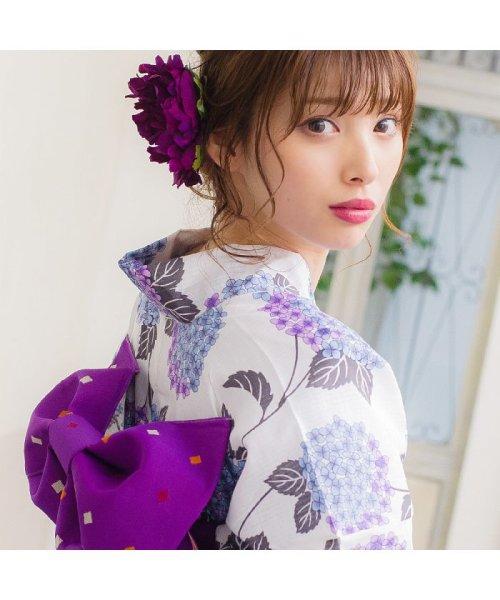 Dita(ディータ)/Dita【ディータ】1人で簡単に着られる作り帯の可愛い女性浴衣 4点フルセット(ゆかた・作り帯・下駄・着付けカタログ)/dl-2013yukata4_img56