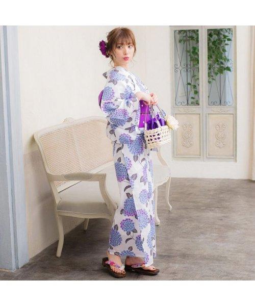 Dita(ディータ)/Dita【ディータ】1人で簡単に着られる作り帯の可愛い女性浴衣 4点フルセット(ゆかた・作り帯・下駄・着付けカタログ)/dl-2013yukata4_img57