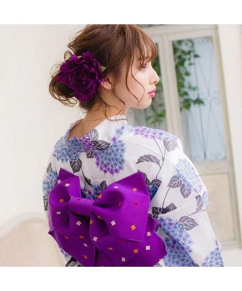Dita(ディータ)/Dita【ディータ】1人で簡単に着られる作り帯の可愛い女性浴衣 4点フルセット(ゆかた・作り帯・下駄・着付けカタログ)/dl-2013yukata4_img58