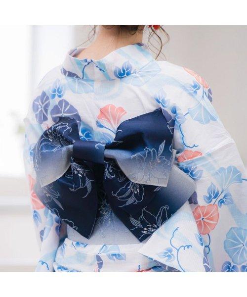 Dita(ディータ)/Dita【ディータ】1人で簡単に着られる作り帯の可愛い女性浴衣 4点フルセット(ゆかた・作り帯・下駄・着付けカタログ)/dl-2013yukata4_img63