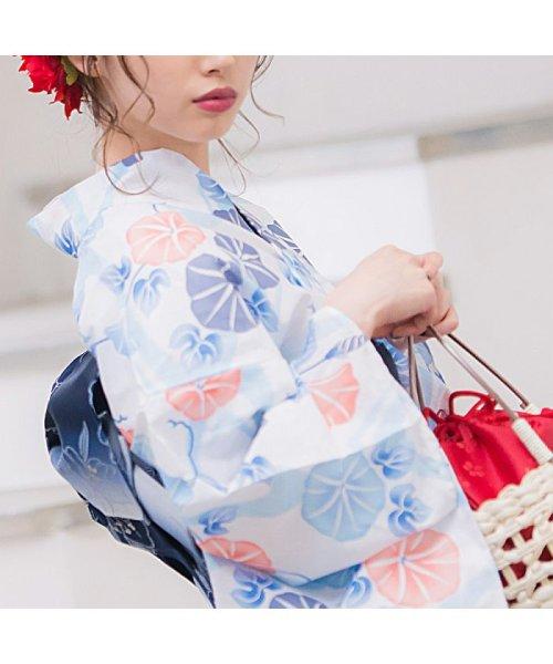 Dita(ディータ)/Dita【ディータ】1人で簡単に着られる作り帯の可愛い女性浴衣 4点フルセット(ゆかた・作り帯・下駄・着付けカタログ)/dl-2013yukata4_img65