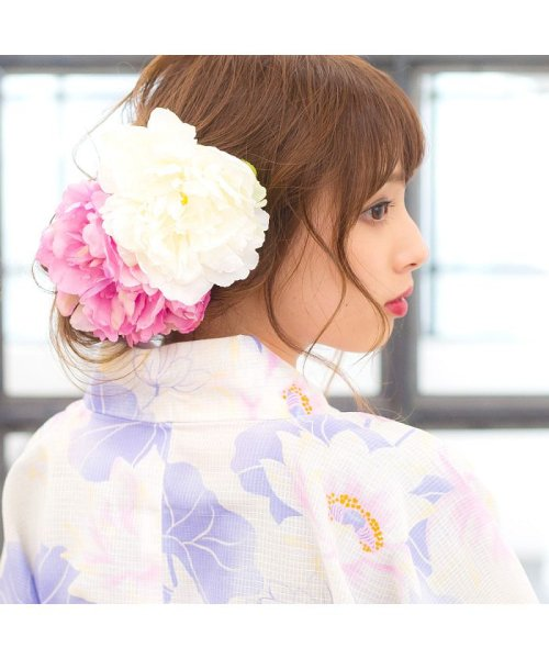 Dita(ディータ)/Dita【ディータ】1人で簡単に着られる作り帯の可愛い女性浴衣 4点フルセット(ゆかた・作り帯・下駄・着付けカタログ)/dl-2013yukata4_img75