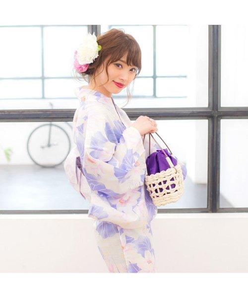 Dita(ディータ)/Dita【ディータ】1人で簡単に着られる作り帯の可愛い女性浴衣 4点フルセット(ゆかた・作り帯・下駄・着付けカタログ)/dl-2013yukata4_img76
