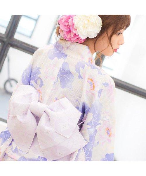 Dita(ディータ)/Dita【ディータ】1人で簡単に着られる作り帯の可愛い女性浴衣 4点フルセット(ゆかた・作り帯・下駄・着付けカタログ)/dl-2013yukata4_img77