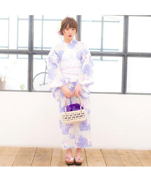 Dita(ディータ)/Dita【ディータ】1人で簡単に着られる作り帯の可愛い女性浴衣 4点フルセット(ゆかた・作り帯・下駄・着付けカタログ)/dl-2013yukata4_img78