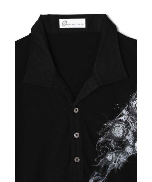 TORNADO MART(トルネードマート)/Zero by TORNADO MART∴バタフライ&スモークプリントプリントポロシャツ/6318178500_img02