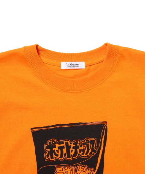 Adam et Rope Le Magasin(アダム エ ロペ ル マガザン)/【Calbee×LeMagasin】コラボ  Tシャツ/EKM0801_img04