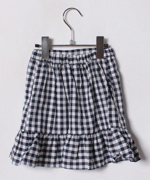 petit main(プティマイン)/裾フリル切り替えギンガムチェック柄スカート/9682108_img02