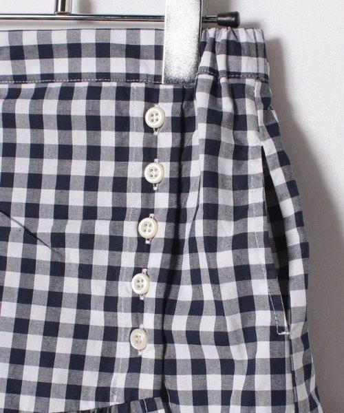 petit main(プティマイン)/裾フリル切り替えギンガムチェック柄スカート/9682108_img04