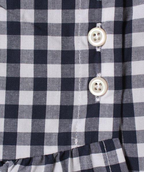 petit main(プティマイン)/裾フリル切り替えギンガムチェック柄スカート/9682108_img05