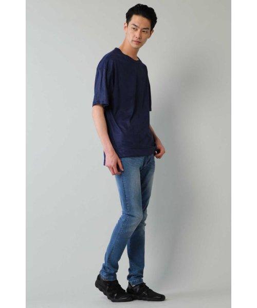 TORNADO MART(トルネードマート)/BLUE TORNADO∴カットスエードBigシルエットTee/6318178808_img03