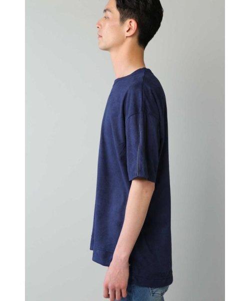 TORNADO MART(トルネードマート)/BLUE TORNADO∴カットスエードBigシルエットTee/6318178808_img05