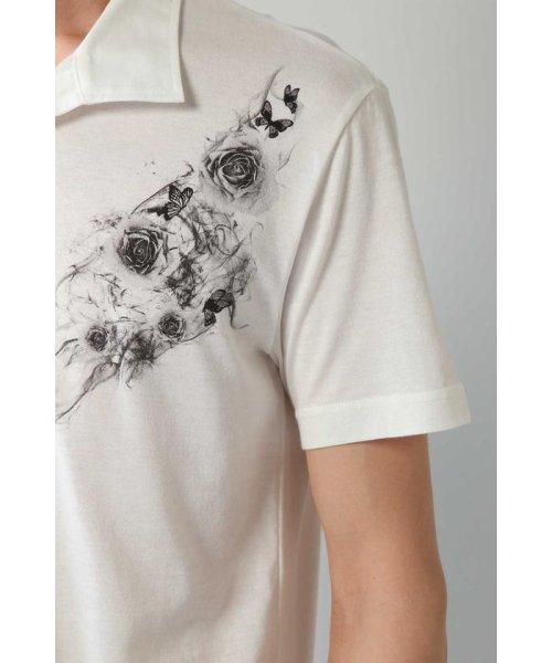 TORNADO MART(トルネードマート)/Zero by TORNADO MART∴バタフライ&スモークプリントプリントポロシャツ/6318178500_img10
