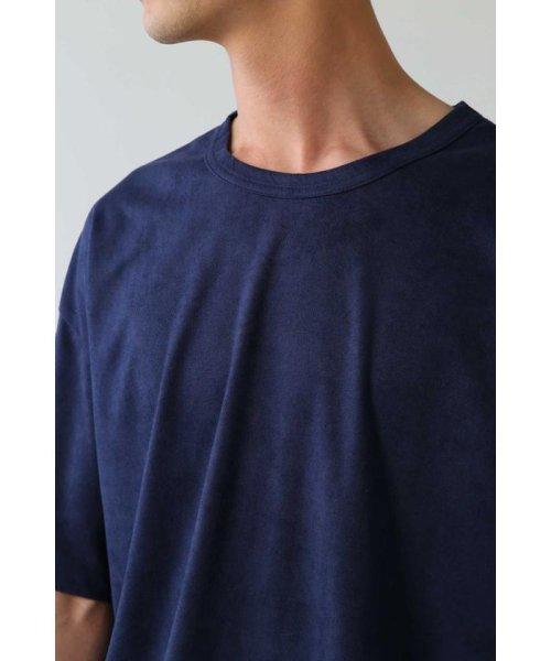 TORNADO MART(トルネードマート)/BLUE TORNADO∴カットスエードBigシルエットTee/6318178808_img06