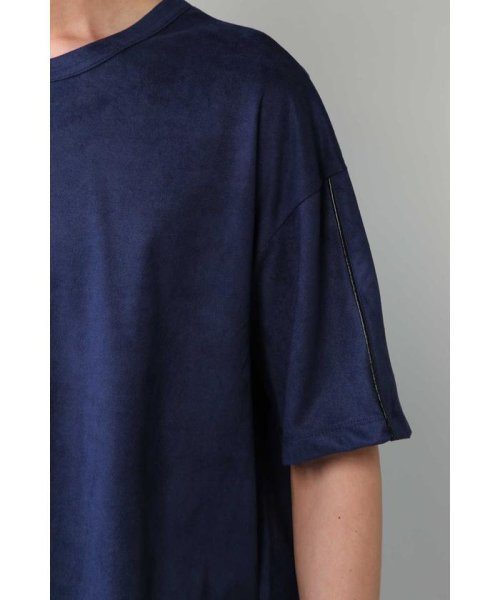 TORNADO MART(トルネードマート)/BLUE TORNADO∴カットスエードBigシルエットTee/6318178808_img07