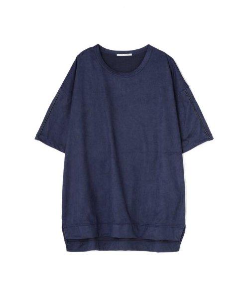 TORNADO MART(トルネードマート)/BLUE TORNADO∴カットスエードBigシルエットTee/6318178808_img09