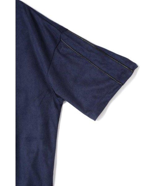 TORNADO MART(トルネードマート)/BLUE TORNADO∴カットスエードBigシルエットTee/6318178808_img11
