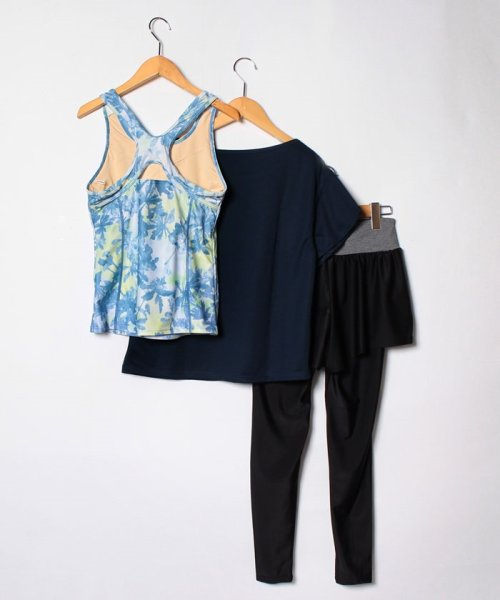 VacaSta Swimwear(バケスタ スイムウェア(レディース))/【FILA】水陸両用4点セット水着/318232_img01