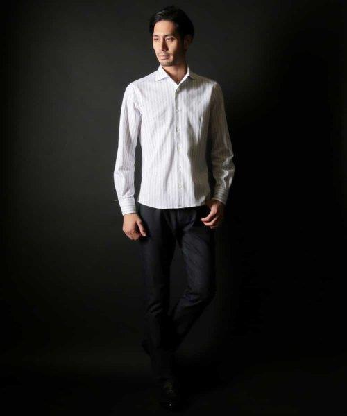 MICHEL KLEIN HOMME(ミッシェルクランオム)/ラッセルストライプシャツ/MNBDD63180_img29