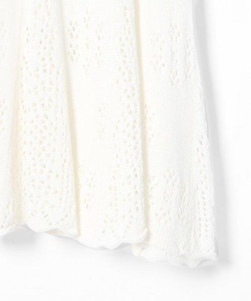 GRACE CONTINENTAL(グレースコンチネンタル)/フラワーパターンニットスカート/18223063_img05