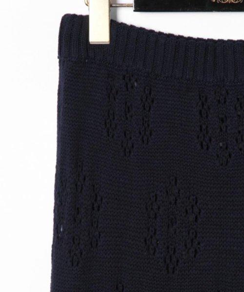 GRACE CONTINENTAL(グレースコンチネンタル)/フラワーパターンニットスカート/18223063_img19