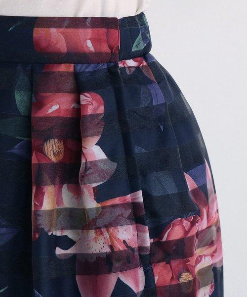 UNIVERVAL MUSE(ユニバーバル ミューズ)/ジャスティンフロール スカート/8274402_img13