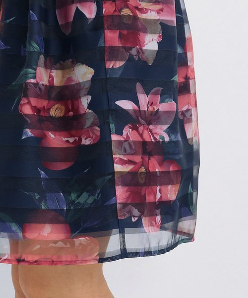 UNIVERVAL MUSE(ユニバーバル ミューズ)/ジャスティンフロール スカート/8274402_img14