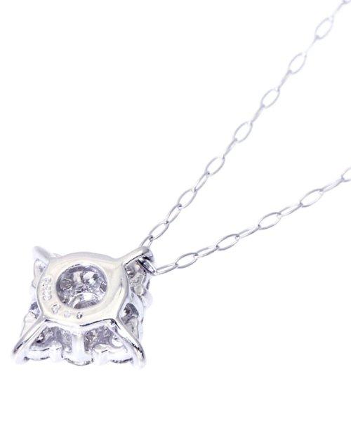 JEWELRY SELECTION(ジュエリーセレクション)/Pt900天然ダイヤモンド計0.3ctデザインネックレス/NSUZ495003CTA40PT_img02