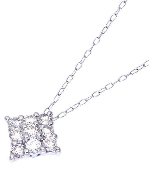 JEWELRY SELECTION(ジュエリーセレクション)/Pt900天然ダイヤモンド計0.3ctデザインネックレス/NSUZ495003CTA40PT_img03