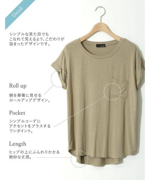 Re:EDIT(リエディ)/ポケット付きTシャツ/117514_img04