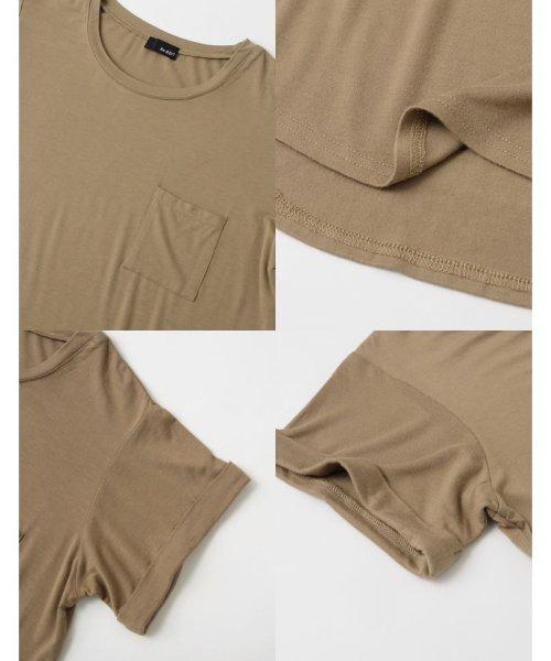 Re:EDIT(リエディ)/ポケット付きTシャツ/117514_img07
