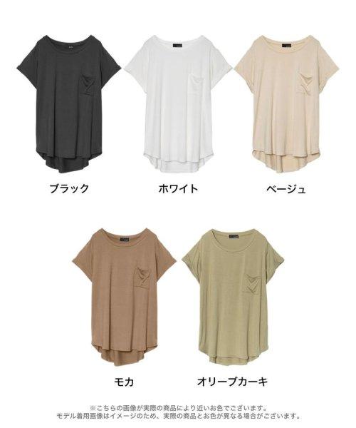 Re:EDIT(リエディ)/ポケット付きTシャツ/117514_img08