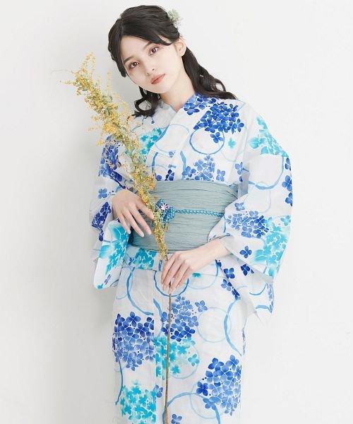 Dita(ディータ)/Dita【ディータ】1人で簡単に着られる作り帯の可愛い女性浴衣 4点フルセット(ゆかた・作り帯・下駄・着付けカタログ)/dl-2017yukata5_img15