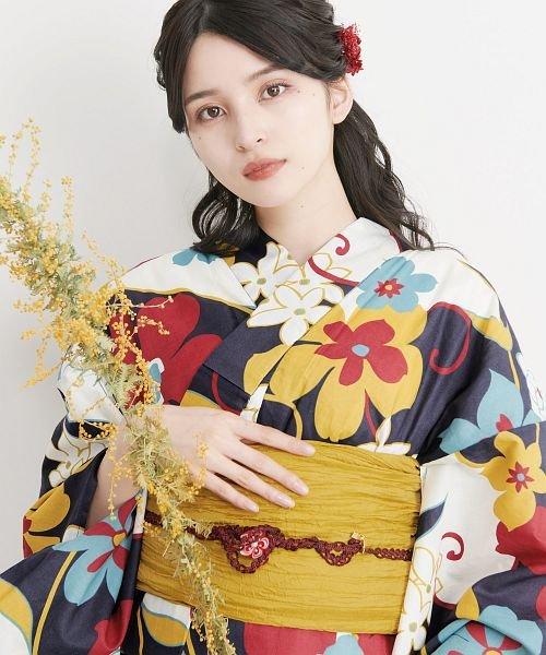 Dita(ディータ)/Dita【ディータ】1人で簡単に着られる作り帯の可愛い女性浴衣 4点フルセット(ゆかた・作り帯・下駄・着付けカタログ)/dl-2017yukata5_img22
