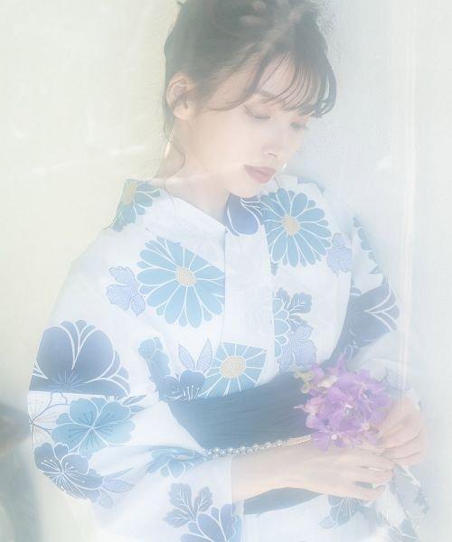 Dita(ディータ)/Dita【ディータ】1人で簡単に着られる作り帯の可愛い女性浴衣 4点フルセット(ゆかた・作り帯・下駄・着付けカタログ)/dl-2017yukata5_img42