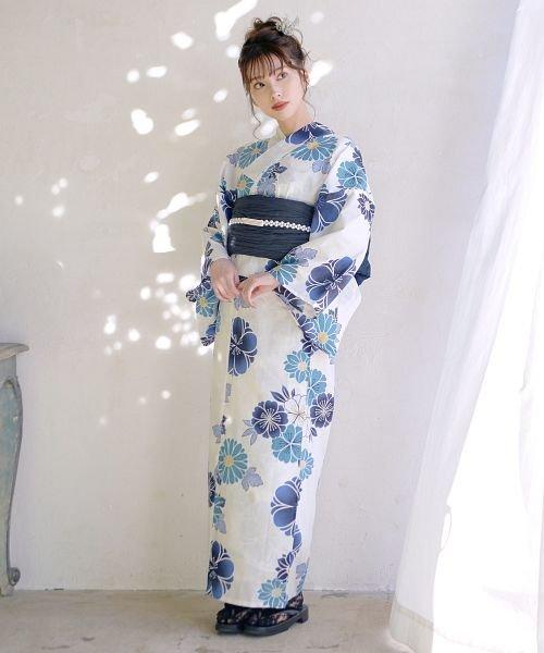 Dita(ディータ)/Dita【ディータ】1人で簡単に着られる作り帯の可愛い女性浴衣 4点フルセット(ゆかた・作り帯・下駄・着付けカタログ)/dl-2017yukata5_img43