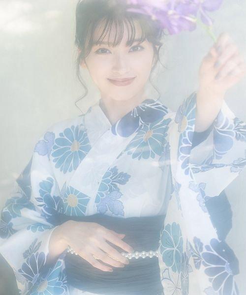 Dita(ディータ)/Dita【ディータ】1人で簡単に着られる作り帯の可愛い女性浴衣 4点フルセット(ゆかた・作り帯・下駄・着付けカタログ)/dl-2017yukata5_img46
