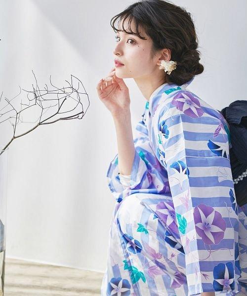 Dita(ディータ)/Dita【ディータ】1人で簡単に着られる作り帯の可愛い女性浴衣 4点フルセット(ゆかた・作り帯・下駄・着付けカタログ)/dl-2017yukata5_img55